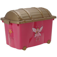 Children's Plastic Toy Boxes and Chests