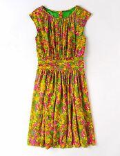 Boden SELINA Floral Print Sleeveless Dress ~ Size 14R ~ Gorgeous EUC