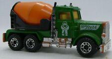 Matchbox Peterbilt Cement Mixer Lorry - Big Pete - ©1981