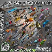 25x PL130 Gold Perked Weapons | Fortnite STW XBOX/PS4/PC