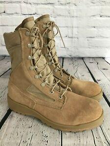 New BELLEVILLE 390DES Desert Tan Hot Weather Combat Boots Men's Size 8 R