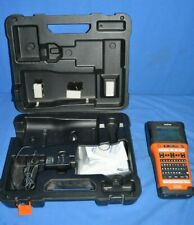 Brother Pt E500 Industrial Handheld Labeling Tool With Case