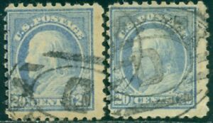 SCOTT # 438 USED, VERY GOOD, 2 STAMPS, GREAT PRICE!