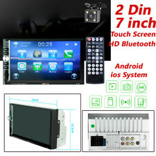 "2DIN 7"" Car Stereo Radio MP5 Player Bluetooth Touch Screen With HD Rear Camera"