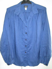 Ladies Vintage Bernini Australia Size 14 Long sleeve Shirt Cotton Blend