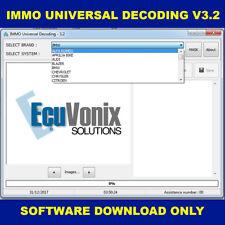 Decodificación IMMO decodificación universal de 3.2 Immo Apagado eliminar & virginize ECU & BSI descargar