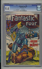 Fantastic Four #93 CGC 9.4 NM Unrestored Marvel Torgo WHITE Pages