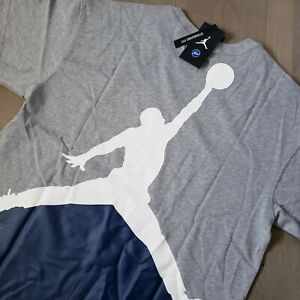Nike Air Jordan x Fragment T-Shirt Gray Lifestyle Men L DA2985-063 Travis Scott