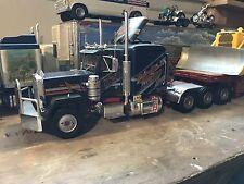 1/25 Peterbilt 353 Heavy Hauler McIver Trucking Built model truck ONLY Nice