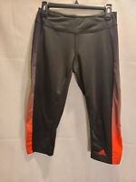 Womens Adidas Climalite Cropped Yoga Pants  Sz Medium M Running EUC