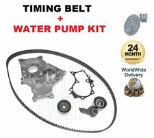 Per TOYOTA RAV 4 2.0 DT 2001-2006 Timing Cam Belt KIT TENSIONATORE + POMPA ACQUA