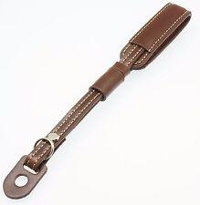 Dark Brown Classy Leather Wrist Strap for Panasonic Lumix DMC-GX85 GX80 GX7 GF7