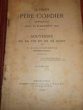 LAVIGNY LE PÈRE CORDIER CURE 1893 JURA 39  ( ref 47 )