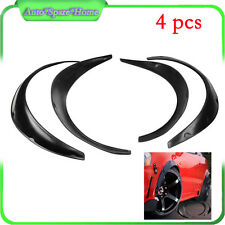 4PCS Arrival Car Black Polyurethane Flexible Exterior Fender Flares US Stock
