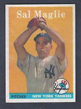1958 Topps #43 Sal Maglie New York Yankees EX-MT