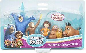 Wonder Park Collectible Character Set Boomer,June,Peanut,Gus,Cooper,Greta