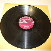 BLUES 78 RPM RECORD - JESSIE KNIGHT - CHECKER 797