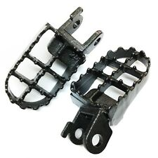 GRAY Motocycle  MX Steel Foot Pegs For 1991-1996 Honda XR250L