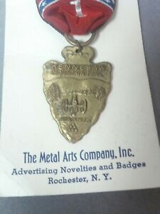 Rare Boy Scout Of America Medal