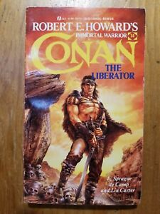 Conan: The Liberator by L. Sprague decamp and Lin Carter 1987 Ace Paperback