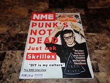 Skrillex Rare Authentic Signed NME Magazine DJ Dance Trance Pop Rock Music + COA