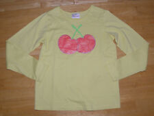 HANNA ANDERSSON LS YELLOW CHERRY TOP GIRLS 140 FALL WINTER