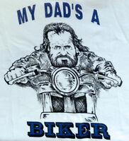 Slogan Baby Biker Babygrow Green When I Grow Up I Wanna Be A Biker Clearance
