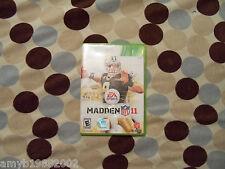 Madden NFL 11 (Xbox 360, 2010)