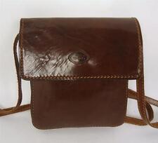 Vintage la tendance marron cuir italien sac d'épaule sacoche sac à main