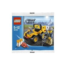 Lego City Town Set 30152 Mining Quad Miner Minifig Bike Limited Release NISB