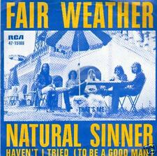 JUKEBOX single  FAIR WEATHER NATURAL SINNER DISC-COUNT2