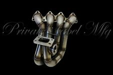 Private Label Mfg (PLM) H22 Top Mount T3 Turbo Manifold 44mm V Band Honda H22A