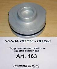 Honda CB175 CB200 Cappellini #163 alloy racing plug if you remove electric start