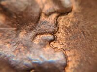 Double Lincoln's Profile1937 Interior Die Break Lincoln Wheat Cent