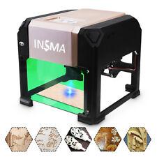 3000mW USB Laser Engraver Desktop DIY Logo Mark Printer Carver Laser Engraving