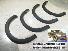 MATTEBLACK For CHEVROLET COLORADO MY12 HOLDEN FENDER FLARES ARCH 2012-2016