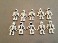 LEGO lot of 10 NEW Skeletons w/ Dangly Arms Minifig Skeleton minifigures