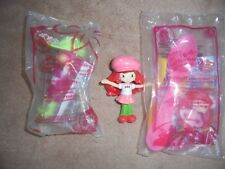 McDonalds Mip Loose Lot 3 Mix Happy Meal Toy Scented Strawberry Shortcake Doll
