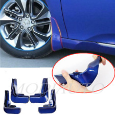4pcs blue Guards Mud Flaps Mud Guards For Toyota Camry SE XSE 2018-2019 2020