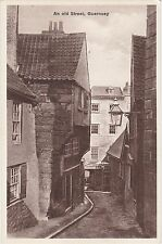 An Old Street & London House, GUERNSEY, Channel Islands