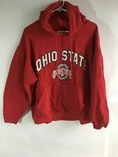 Big Ball Sports XL Red Ohio State Pullover Drawstring Hoodie