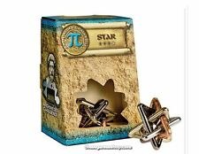 Metal mind gift puzzles Star Archimedes