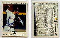 Trevor Hoffman Signed 1997 Score #36 Card San Diego Padres Auto Autograph