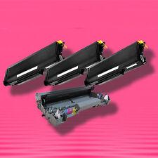 4P TONER+DRUM for Brother TN-650 TN650 DR-620 DR620 HL-5370DW HL-5370DWT
