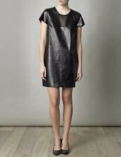 "Diane Von Furstenberg ""Medya"" Leather Dress"
