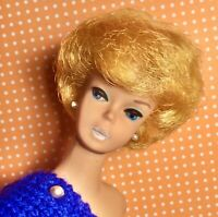 Vintage Barbie Bubble Cut Blonde WHITE GINGER  HERE'S THAT ELUSIVE GIRL!