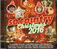So Country Christmas 2016 (2 x CD) Dolly Parton/Lonestar/Leann Rimes/Burl Ives
