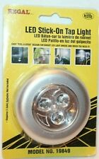 Regal LED Stick-On Tap Light  Silver/Gray