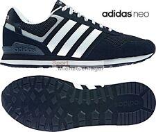 adidas neo 10K Herren Sneaker Schwarz Original Style Freizeit-u. Turnschuhe NEU