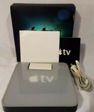Apple TV A1218 1st Generation 40GB Media Streamer W/ Power Cord and Remote & Box